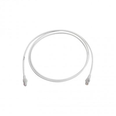 Cable de Parcheo UTP Categoría 6 Panduit, RJ-45 Macho - RJ-45 Macho, 3 Metros, Color Blanco Mate